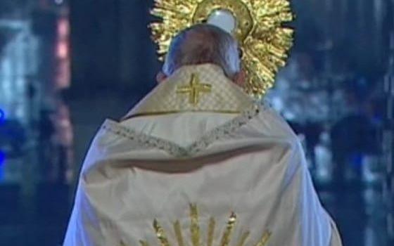 Francesco benedice creato